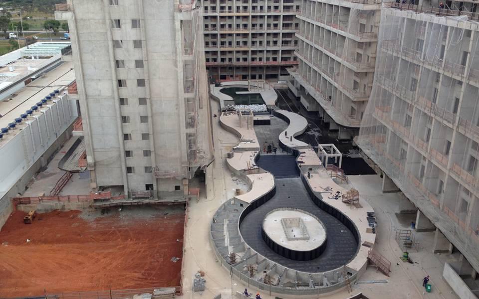 Vista geral residencial