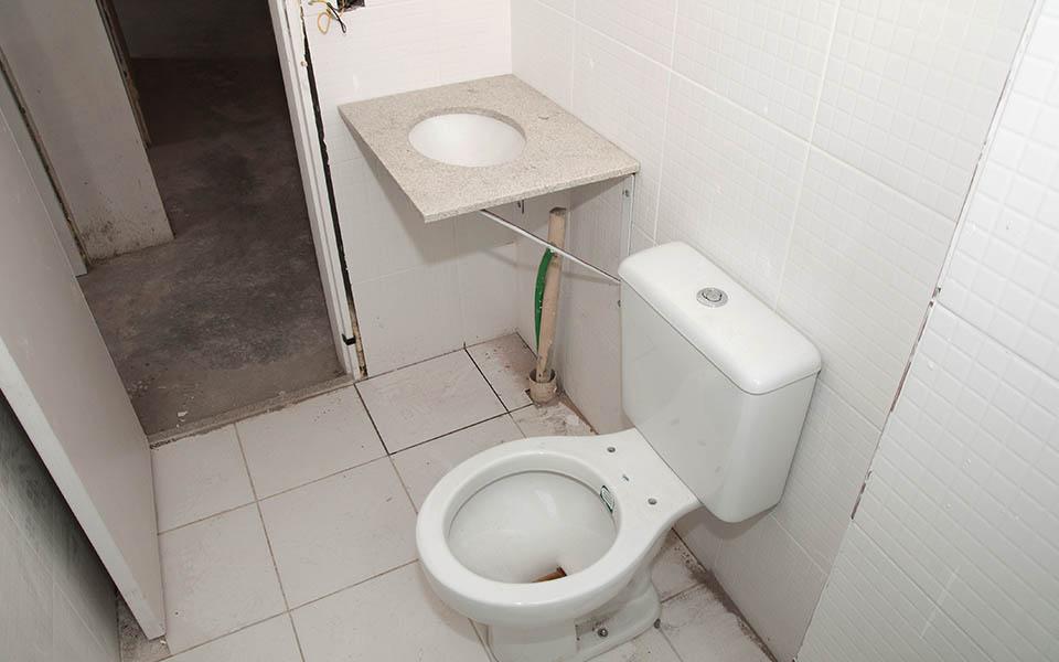 Banheiro ap 71 Torre 4