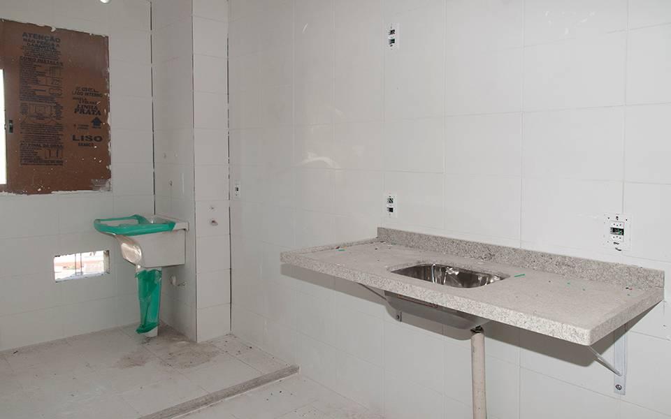 Cozinha apartamento 134 Torre 2