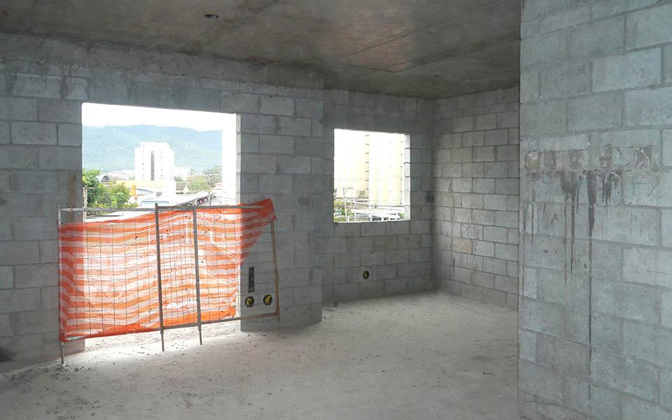 Torre 1, apartamento 22, sala