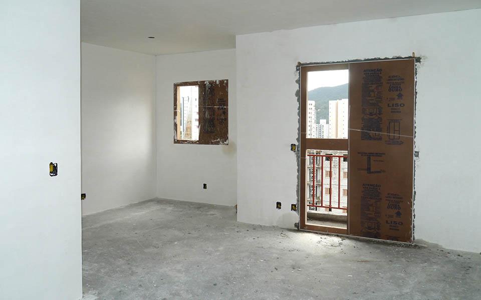 Torre 4, apartamento 91, sala