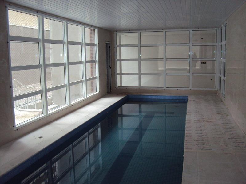 Caixilhos piscina