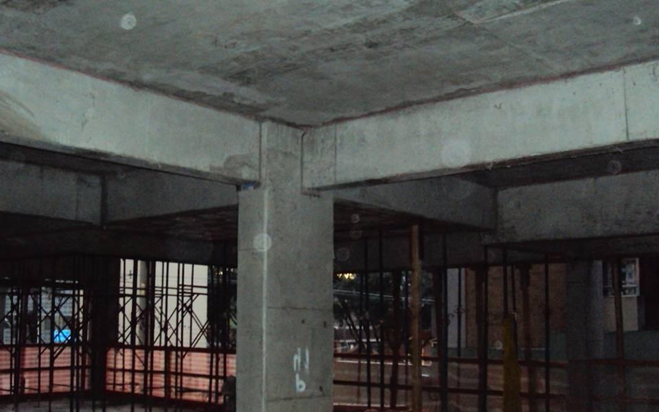 Estrutura 4º pavimento