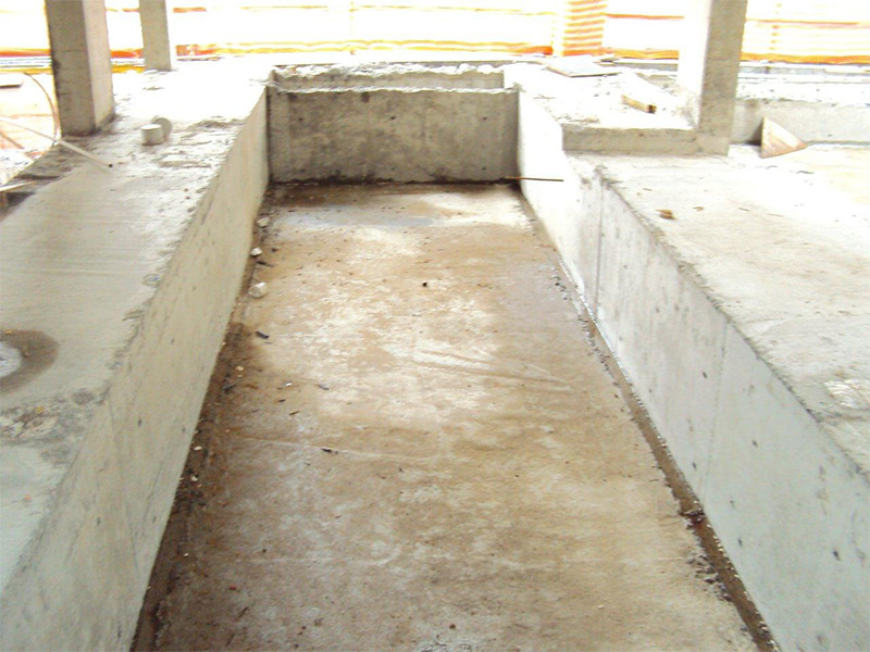 Estrutura piscina