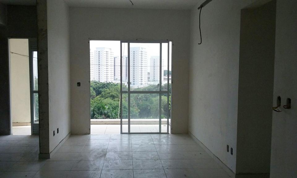 Torre 4, Sala de estar do apto de 71 m²