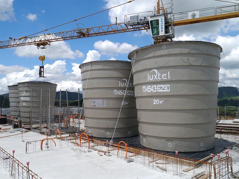Torre B caixas d'água