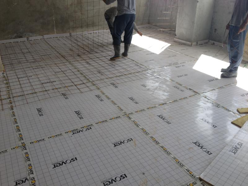 Isolamento acústico piso 32o pavimento