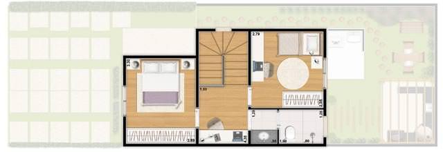 Casa 66m² - superior
