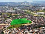 Foto aerea - Flex Carapicuíba - Tecnisa