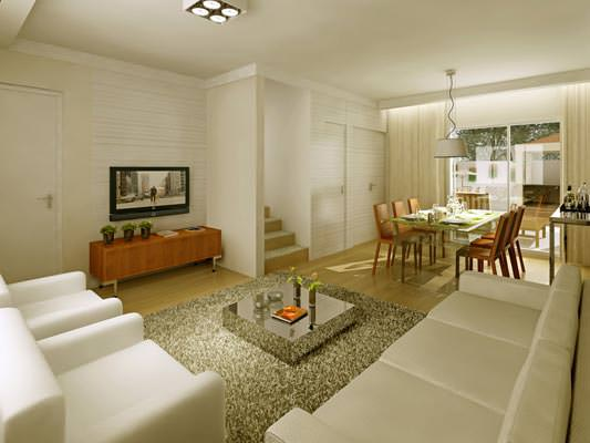 Living casa 82m²