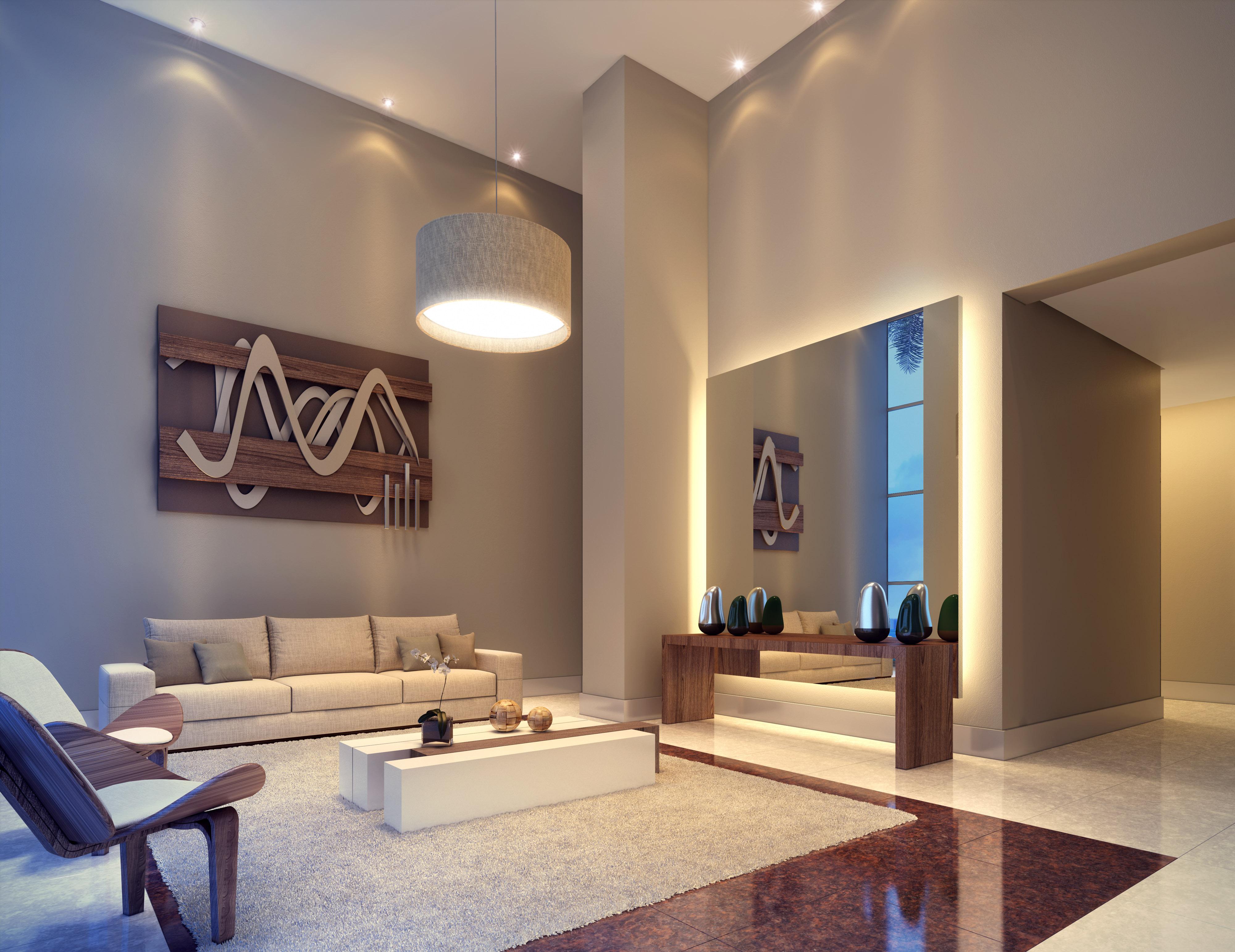 Lobby residencial