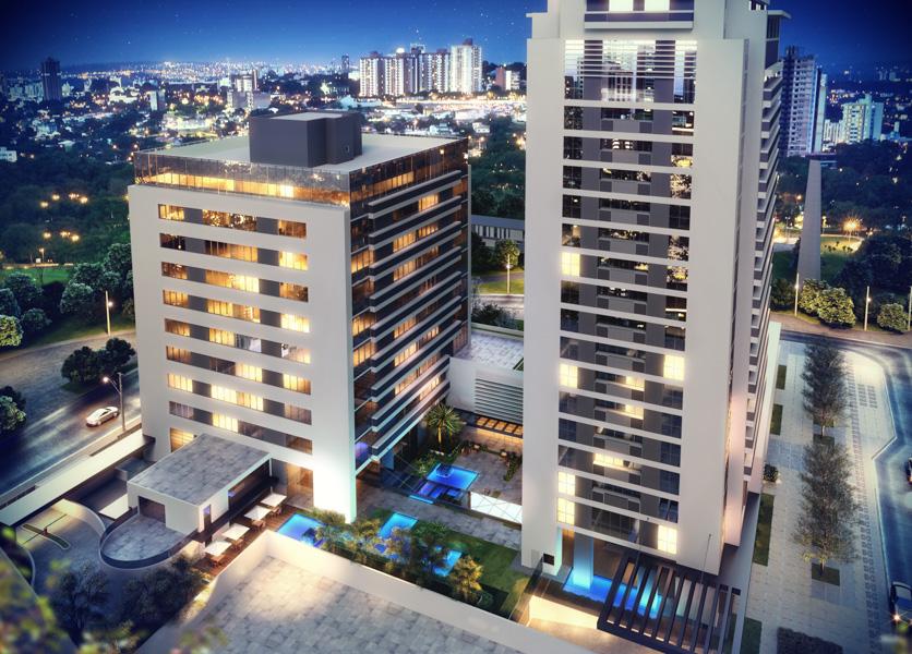 Residence Centro Cívico em Centro Cívico, Curitiba