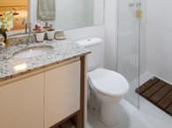 Banheiro do casal - Flex Jundiaí II - Tecnisa