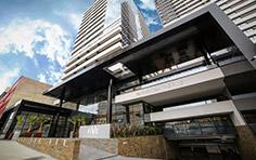 Acesso principal Rua Nunes Machado - The Five Business - Tecnisa