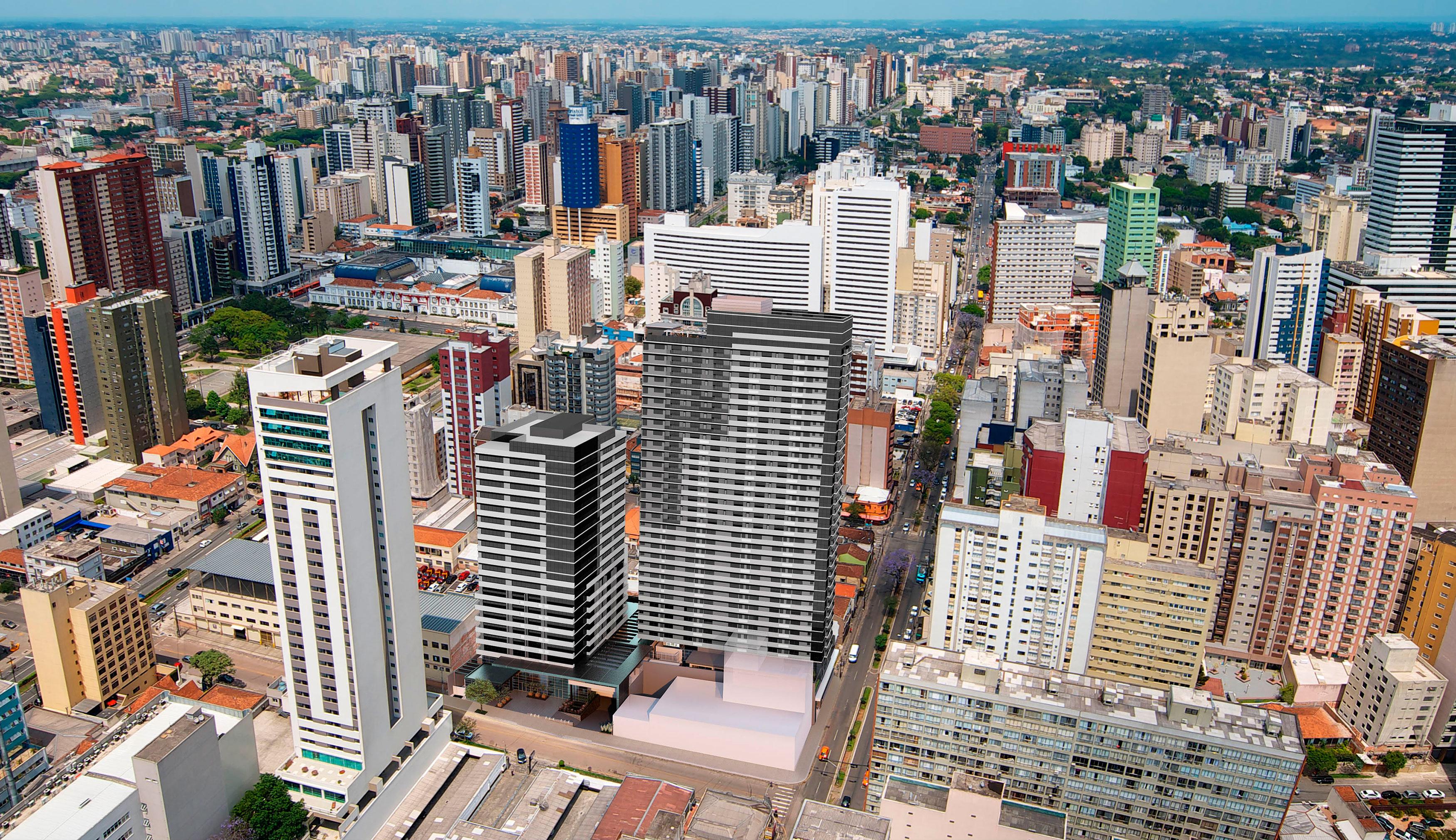 Rua Dr Pedrosa Fotomontagem
