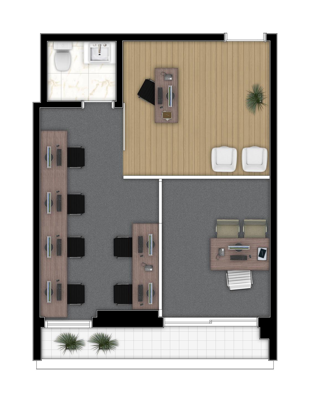 38,20 m² - Final 4