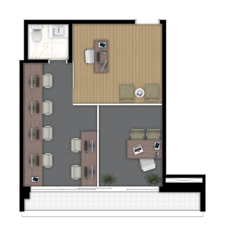 40,24 m² - Final 10