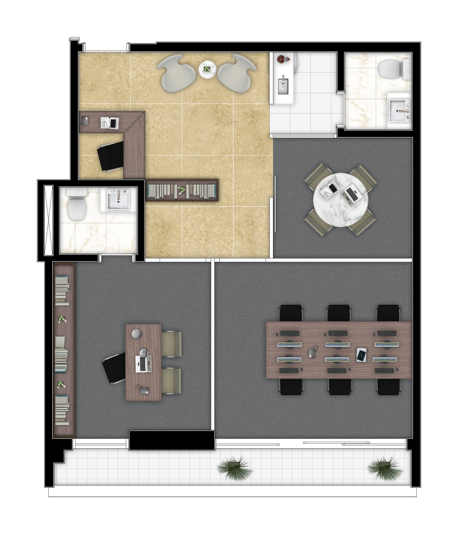 61,74 m² - Final 8