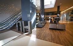 Hall principal residencial e hotel - The Five Home - Tecnisa