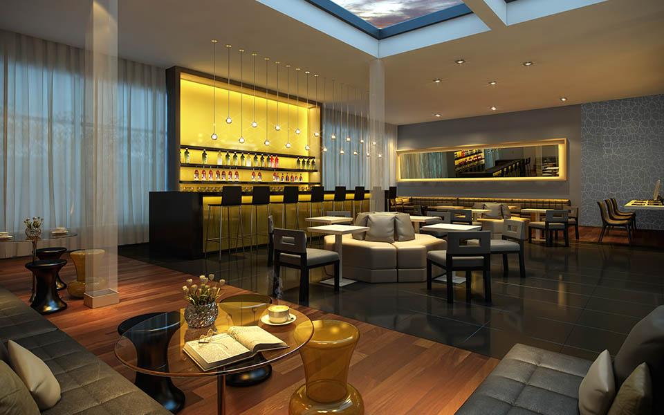 Bar do Hotel - NHUBE