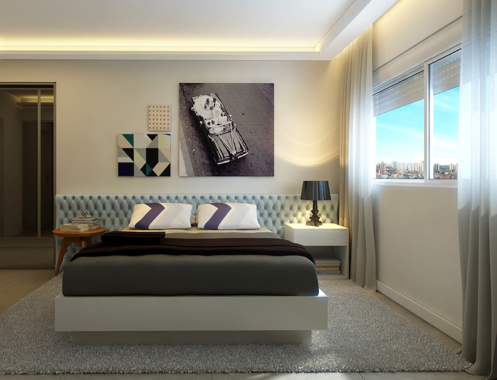 Suíte master - 159 m²