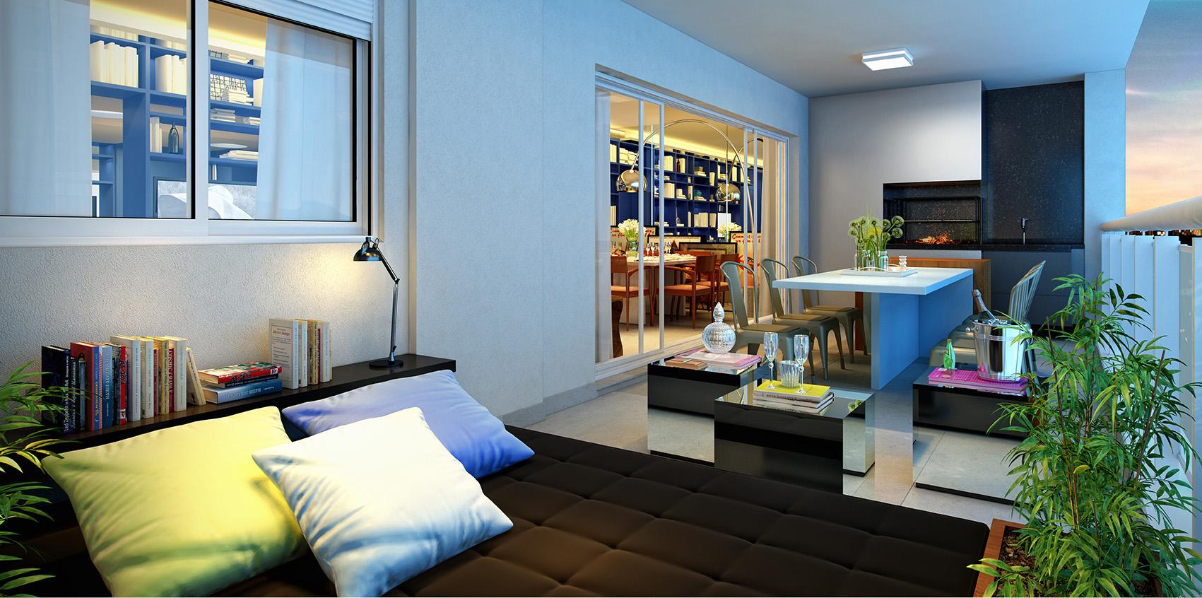 Terraço - 159 m²