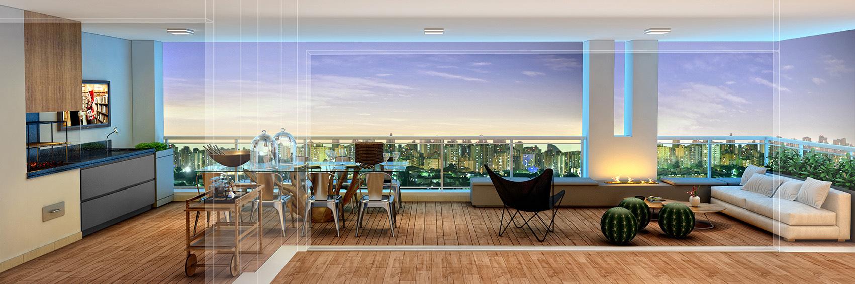 Terraço - 197 m²
