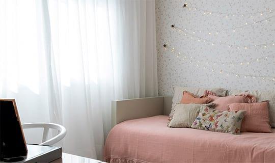 Decorado 241 m²   Quarto de menina - Reserva Manacá - Tecnisa