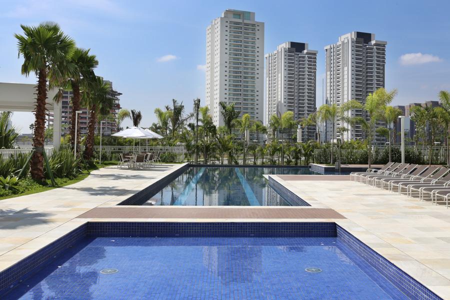 jardins das perdizes flats com piscina