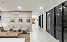 Sala de espera - Novo Centro Curitiba - Tecnisa