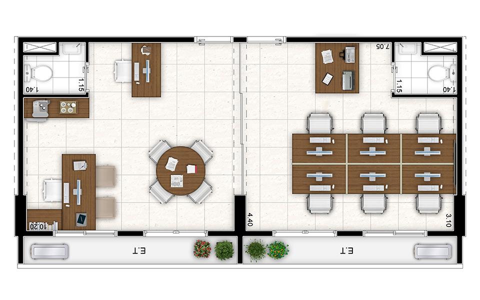 Salas 9 e 10