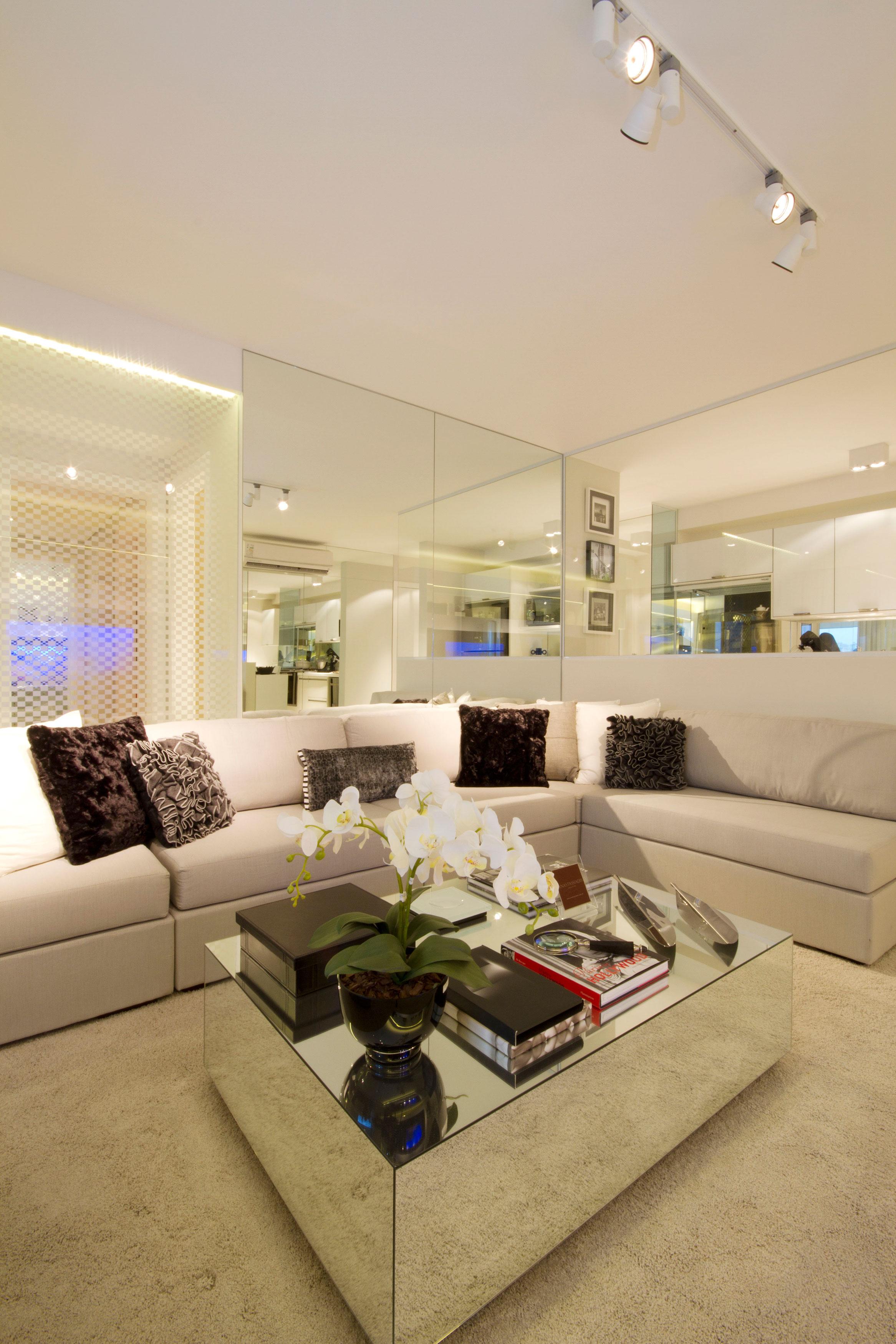 108 m² - Sala de estar