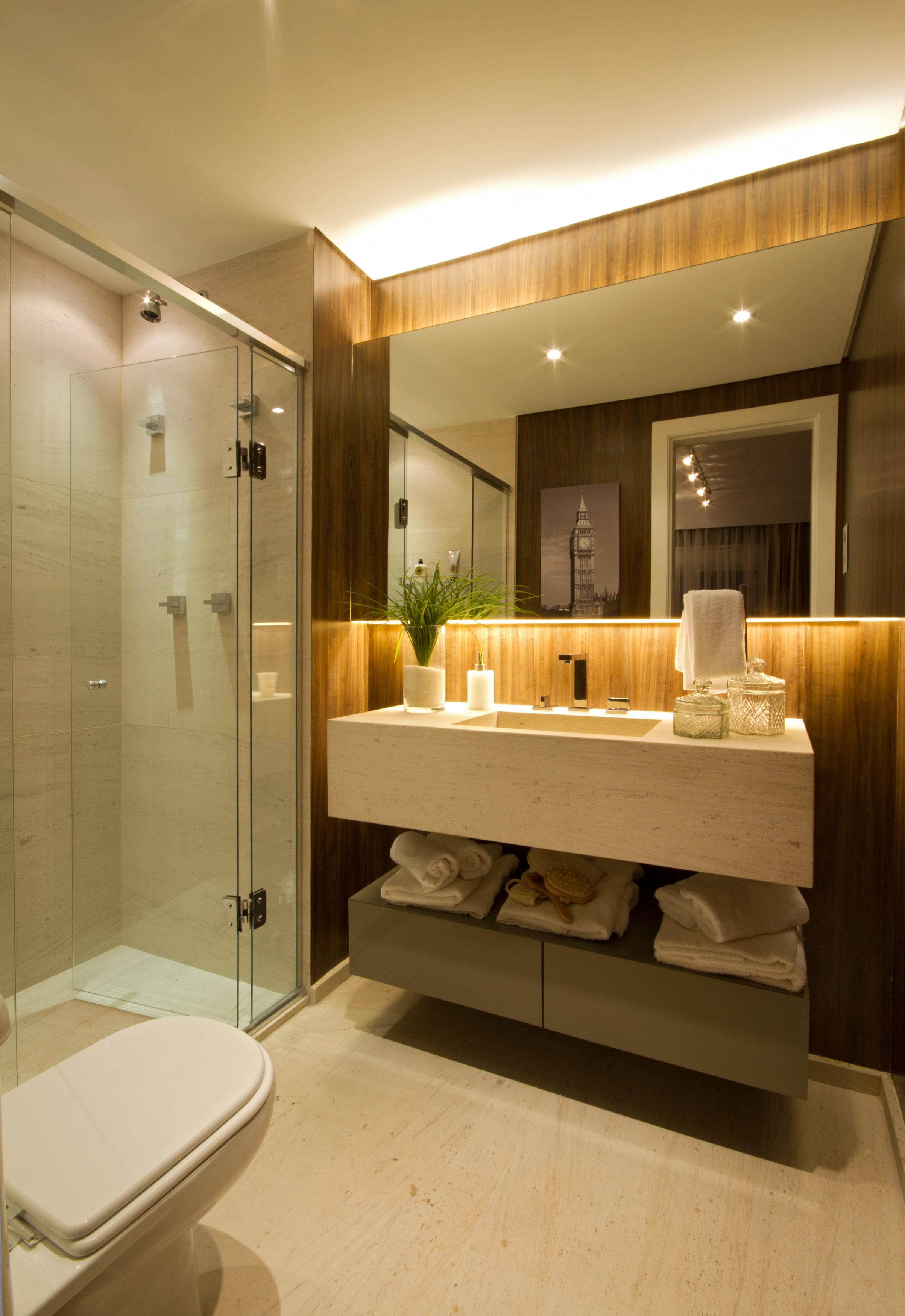 79 m² - Banheiro do casal