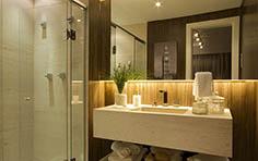 79 m² - Banheiro do casal - Recanto Jacarandá - Tecnisa