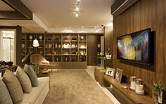 79 m² - Sala de estar - Recanto Jacarandá - Tecnisa