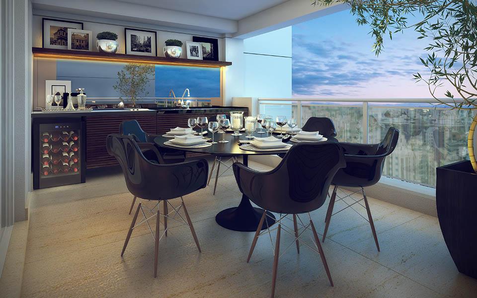 Terraço 79 m²