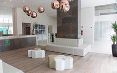 Hall de entrada  - Inspira Business - Tecnisa