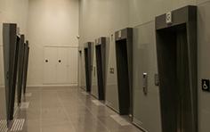 Hall dos elevadores - Office Time - Tecnisa