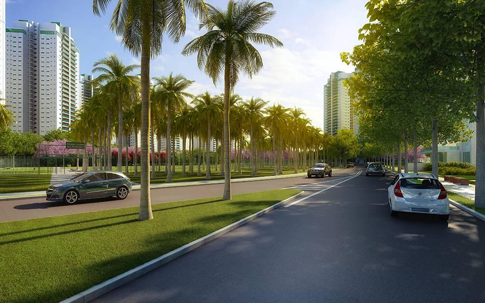 Ruas e Parque Jardim das Perdizes