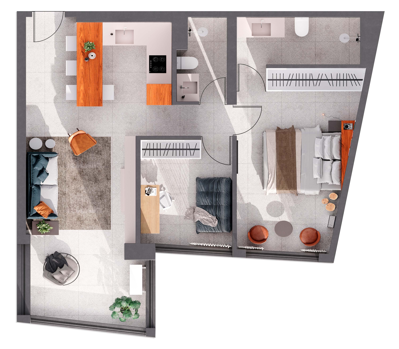 Apartamento à venda em Jardim das Perdizes - São Paulo