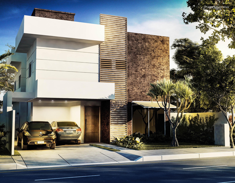 Imagem ilustrativa de sugestão de construção - Fachada