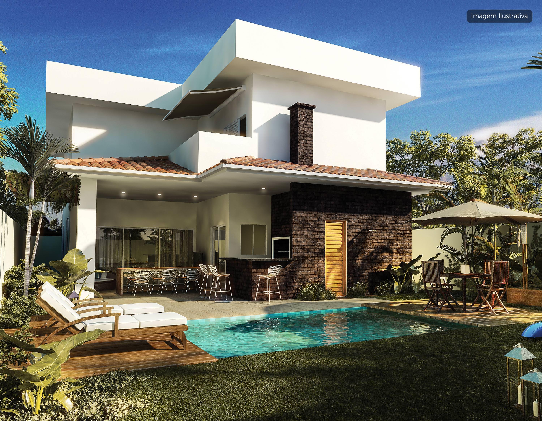 Imagem ilustrativa de sugestão de construção - Piscina
