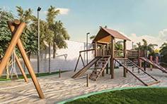 Playground - Jardim Vista Bella - Tecnisa