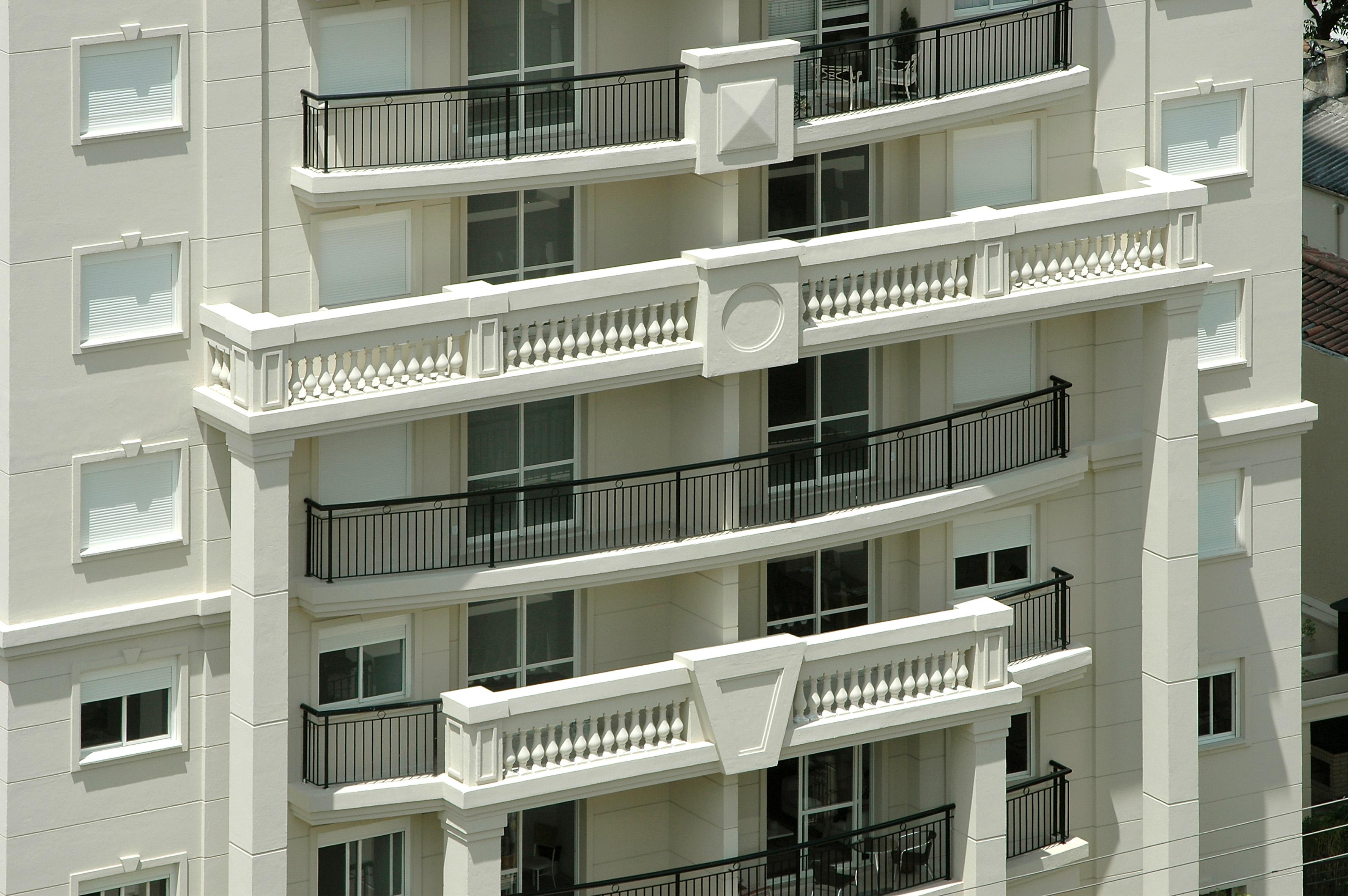 Detalhe da fachada